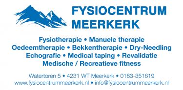 Fysiocentrum Meerkerk